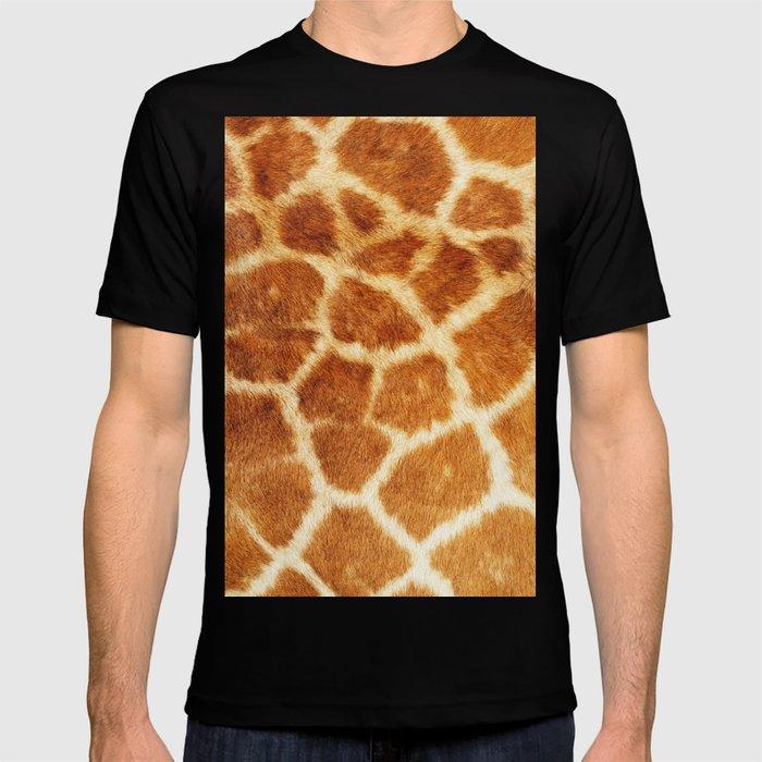 30a90b87 Giraffe Print T-shirt by chinhairdesigns | Society6