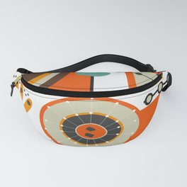 Vinyl and flowers Fanny Pack