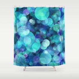 Bubbles 004 Shower Curtain