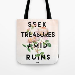 Seek Treasure Tote Bag