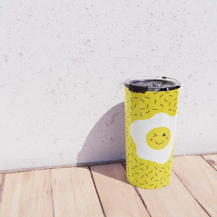 Eggs emoji Travel Mug