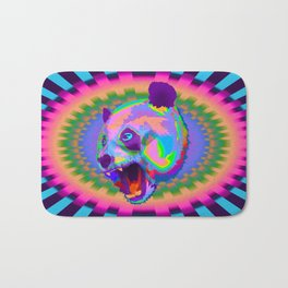 Prismatic Panda  Bath Mat