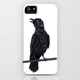 Verklempt Crow iPhone Case