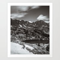 Gore Lake From Above Art Print