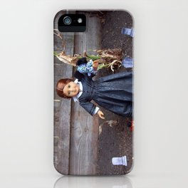 The Girl and Her Pet Sea Monster iPhone Case