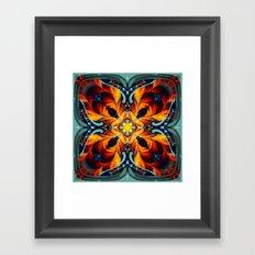 Mandala #7 Framed Art Print
