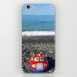Postcard from the sea iPhone Skin
