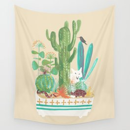 Desert planter Wall Tapestry