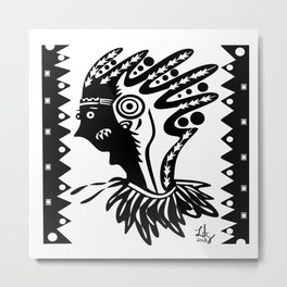 Two faced? Metal Print