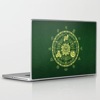 triforce Laptop & iPad Skins featuring Zelda Triforce  by DavinciArt