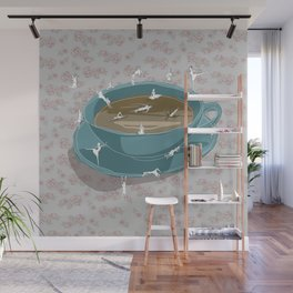 Teatime Wall Mural