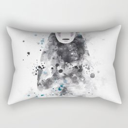 No Face Rectangular Pillow