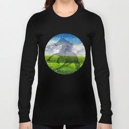Horse fantasy Long Sleeve T-shirt