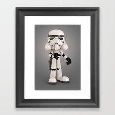 Skull Trooper Framed Art Print
