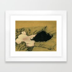 Love Sleep 2016 Framed Art Print