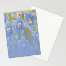 Forget-me-not flowers - summer beauty Stationery Cards
