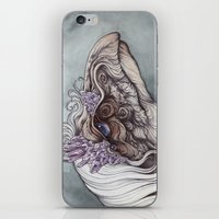 caitlin hackett iPhone & iPod Skins featuring The Mystic by Caitlin Hackett