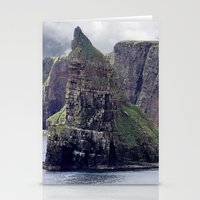 twin peaks Stationery Cards featuring Twin Peaks by Roger Wedegis