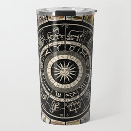 The Major Arcana & The Wheel of the Zodiac Travel Mug