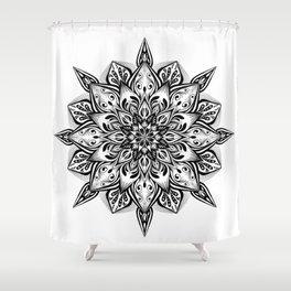 Manadala 3 Shower Curtain