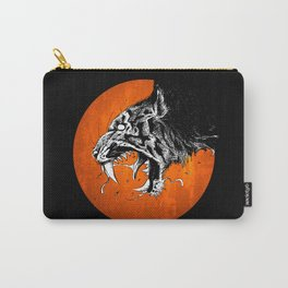 Crazy Tiger Carry-All Pouch