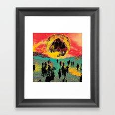 Eyam Framed Art Print