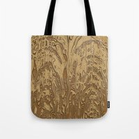 twins Tote Bags featuring Twins by DesignsByMarly