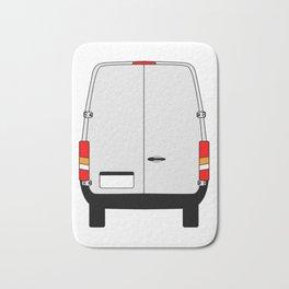 Small Van Back Doors Bath Mat