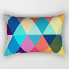 Vibrant and colorful art III Rectangular Pillow