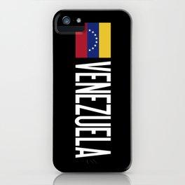 Venezuela: Venezuelan Flag & Venezuela iPhone Case
