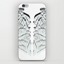 White Matter iPhone Skin