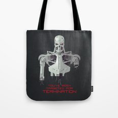 You've Been Targeted For Termination (T800) Tote Bag
