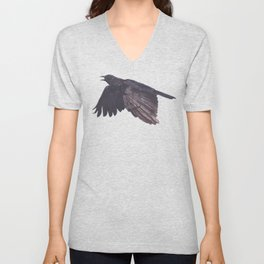 As the Crow Flies Unisex V-Neck