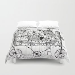 chest of drawers transport Duvet Cover