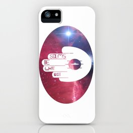 Not What He Seems (Author) iPhone Case
