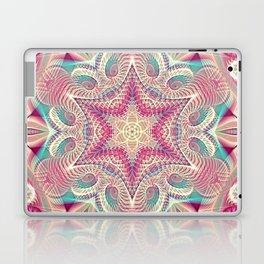 Flower Of Life Mandala (Sweet Embrace) Laptop & iPad Skin