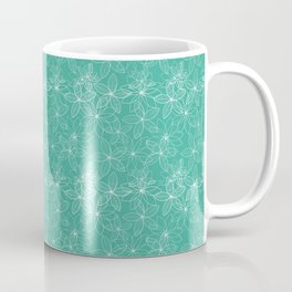 Floral Freeze Mint Coffee Mug