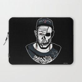 Golf Wang - Tyler The Creator Skull Ink Print Laptop Sleeve