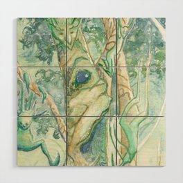 The Bumi Tree Sprites Wood Wall Art