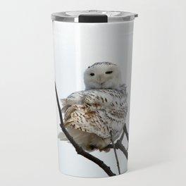 Twist and Shout (Snowy Owl) Travel Mug