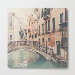 wandering the streets of Venice ... Metal Print