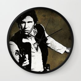Hans Solo Pop Art Wall Clock