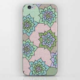 zakiaz lotus design iPhone Skin