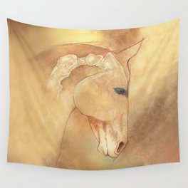 The Equine Poll Wall Tapestry