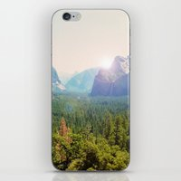 yosemite iPhone & iPod Skins featuring Yosemite by Chelem