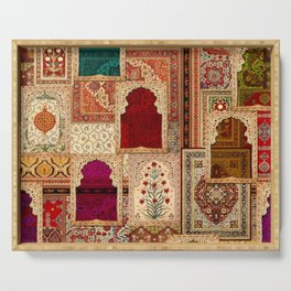 Medley of Rugs Serving Tray