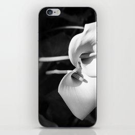 Giant White Calla Lily iPhone Skin