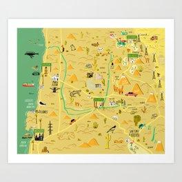 Calama Art Print