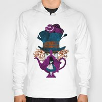 alice wonderland Hoodies featuring Wonderland by Vitalitee