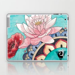 Taurus in Flowers Laptop & iPad Skin